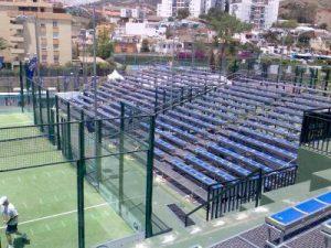 Alquiler de gradas modulares - Moysesur